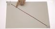 (WW 3/7) Wodzenie wzrokiem za palcem wskazującym na płaszczyźnie o określonej fakturze