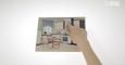 (PW 15/41) Wskazywanie przedmiotów na ilustracji po obejrzeniu oddzielnego obrazka