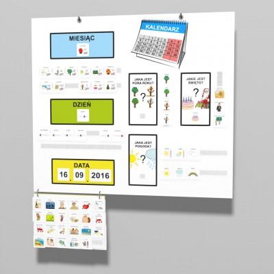 Nauka kalendarza - kalendarz edukacyjny