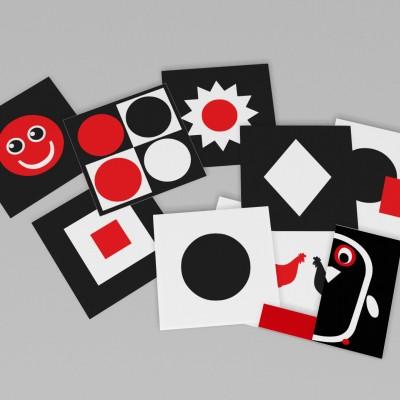 PINGWIN – karty kontrastowe